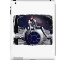 Imperial Tie Fighter (Pinup 1) iPad Case/Skin