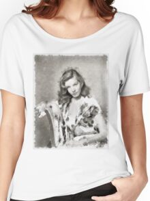 Lauren Bacall by John Springfield Women's Relaxed Fit T-Shirt
