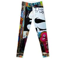 Austin Graffiti Leggings