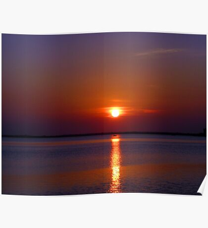 Another Space Coast Sunrise (L) Poster