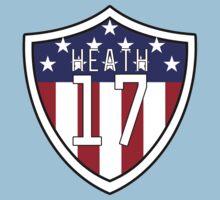 Tobin Heath #17 | USWNT One Piece - Short Sleeve