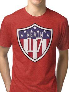 Tobin Heath #17 | USWNT Tri-blend T-Shirt