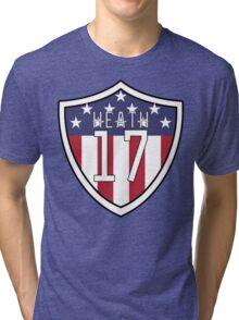 Tobin Heath #17   USWNT Tri-blend T-Shirt