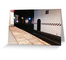 Essex St Train Greeting Card