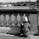 Looking Down the Seine by Virginia Kelser Jones