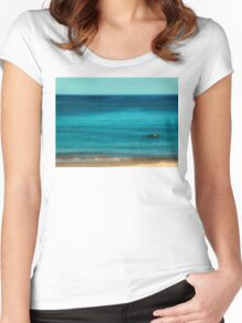 Swiming Into You Women's Fitted Scoop T-Shirt