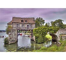 Le Vieux Moulin - Vernonette Photographic Print