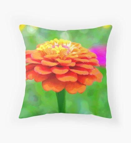 Colors! Throw Pillow