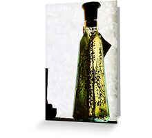 Spice In A Bottle Greeting Card