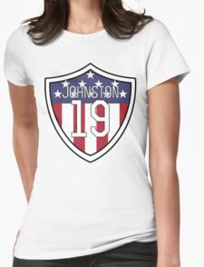 Julie Johnston #19 | USWNT Womens Fitted T-Shirt