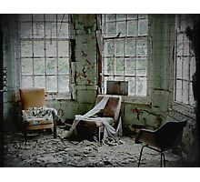 Three ~ West Park Asylum Photographic Print