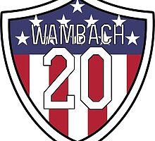 Abby Wambach #20 | USWNT by dysfnctnlysane