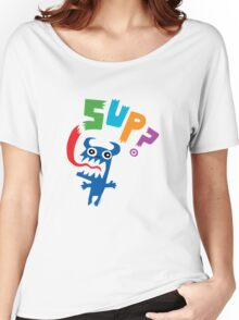 Sup? light colors Women's Relaxed Fit T-Shirt