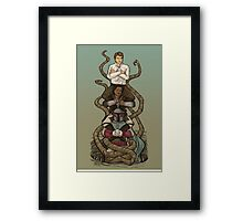 No Turning Back Now Framed Print