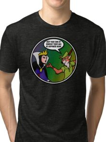 Evil Queen, Robin Hood and the pursuit of Happiness Tri-blend T-Shirt