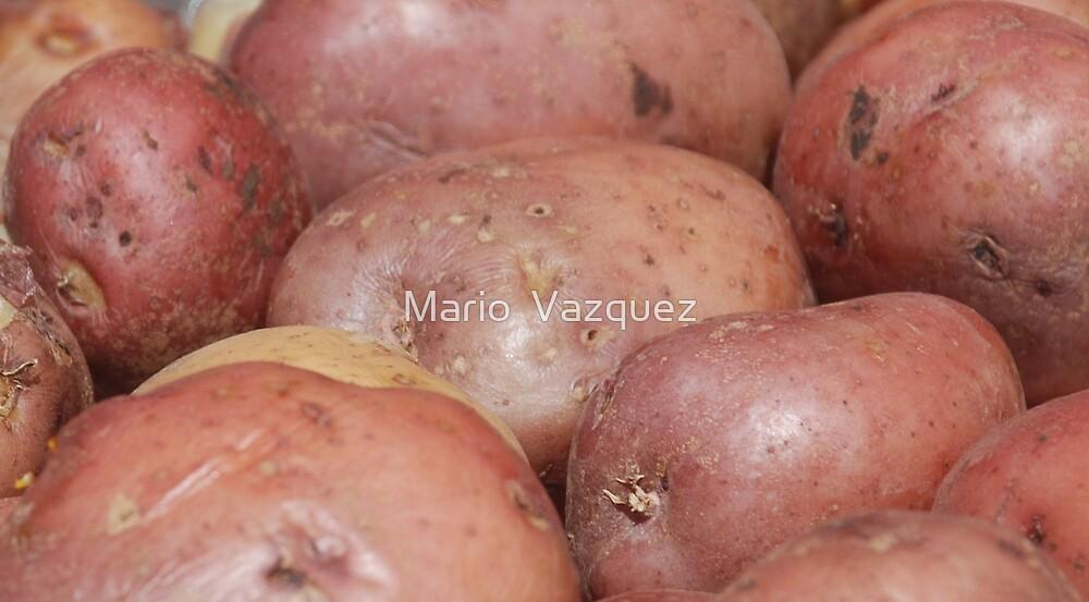 Cooked Potatoes by Mario  Vazquez