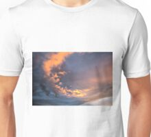 Yellow clouds Unisex T-Shirt