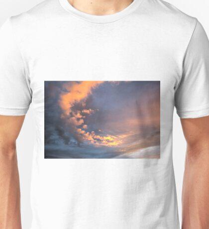 Yellow clouds Unisex T-Shirt