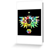Noble House of the winged Lion Greeting Card