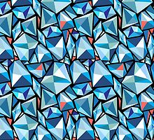 abstract pattern polygons by Tanor