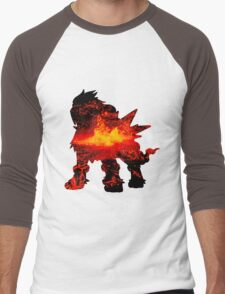 Entei used eruption Men's Baseball ¾ T-Shirt