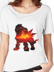 Entei used eruption Women's Relaxed Fit T-Shirt