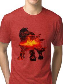 Entei used eruption Tri-blend T-Shirt