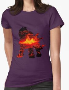 Entei used eruption Womens Fitted T-Shirt