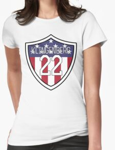 Meghan Klingenberg #22 | USWNT Womens Fitted T-Shirt