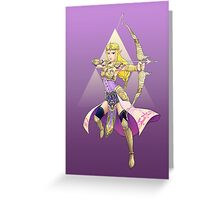 Hylian Warrior Greeting Card
