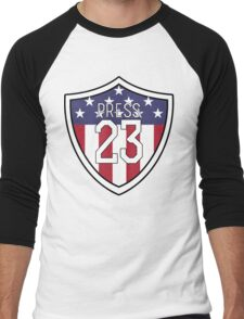 Christen Press #23 | USWNT Men's Baseball ¾ T-Shirt