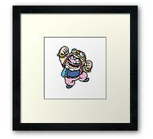 Wario  Framed Print