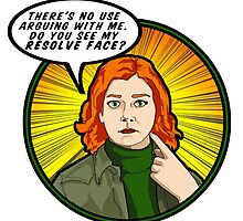 Resolve face. Your argument is invalid. by Anna Welker