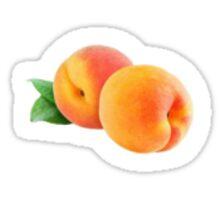 Cute As A Peach Sticker Sticker