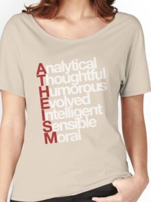 Atheism - white Women's Relaxed Fit T-Shirt
