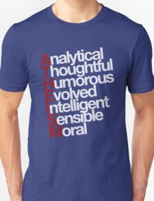 Atheism - white T-Shirt