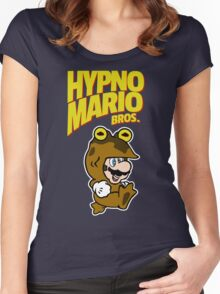 HypnoMario Bros Women's Fitted Scoop T-Shirt