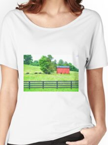 Farmlife in the Fork Women's Relaxed Fit T-Shirt