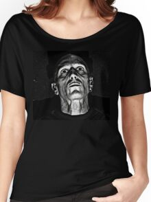 Portrait in Black and White. Women's Relaxed Fit T-Shirt