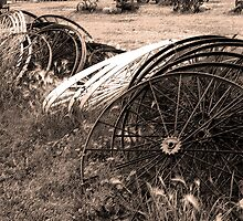 Wheels III by Al Bourassa