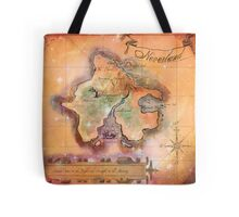 Neverland Map  Tote Bag