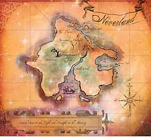 Neverland Map  by Sophersgreen