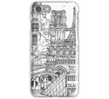 Bienvenue Paris iPhone Case/Skin