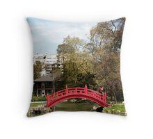 japanese Garden, Buenos Aires, Argentina Throw Pillow