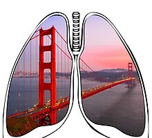 Lungs - Golden Gate Bridge by riskeybr