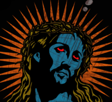 The Life and Death of Jesus Sticker