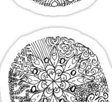 Patterned Semicolon Sticker