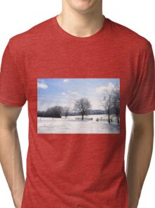 A Tennessee Winter Day Tri-blend T-Shirt