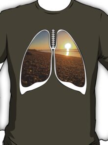 Lungs - San Jose Beach T-Shirt