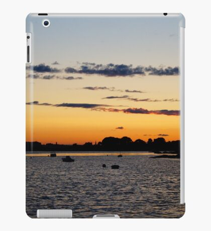 Sundown Harbor iPad Case/Skin